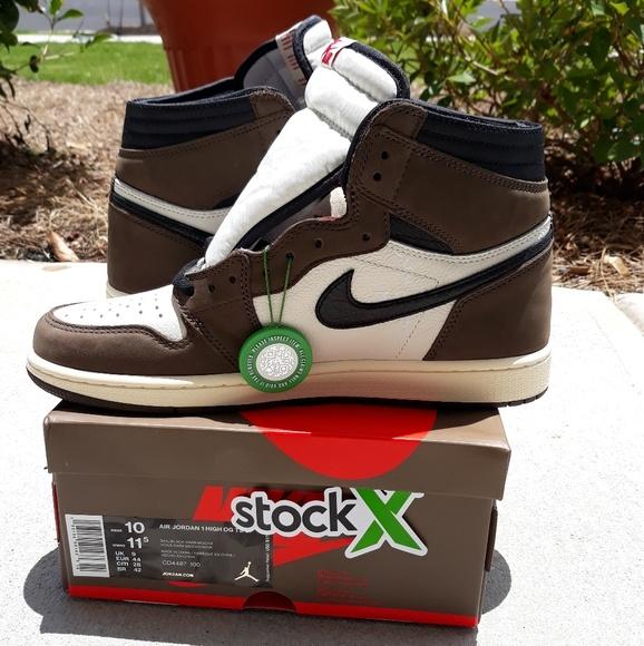 46159415 Jordan Shoes | Air 1 Travis Scott Cactus Jack Sneakers | Poshmark